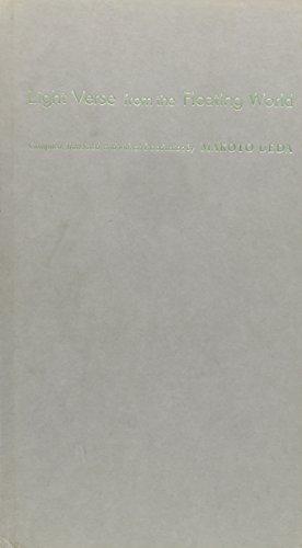 9780231115506: Light Verse From the Floating World - An Anthology of Premodern Japanese Senryu