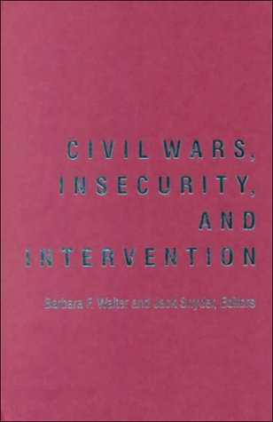 9780231116268: Civil Wars, Insecurity, and Intervention