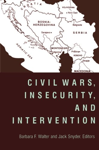 9780231116275: Civil Wars, Insecurity, and Intervention