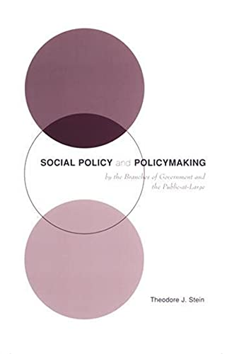 9780231116824: Social Policy & Policymaking by the Branches of Government and the Public-at-Large