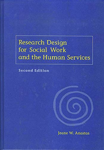 9780231118903: Research Design for Social Work and the Human Services