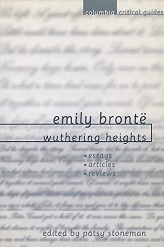 9780231119207: Emily Bront: Wuthering Heights