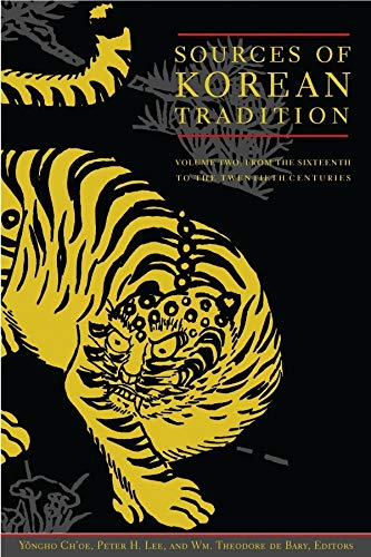 Sources of Korean Tradition (0231120303) by Wm. Theodore de Bary