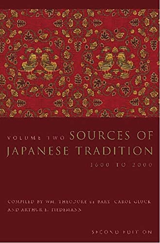 9780231121385: Sources of Japanese Tradition: Volume 1: From Earliest Times to 1600: v. 1 (Introduction to Asian Civilizations)