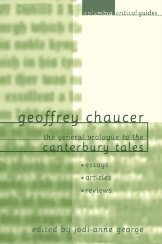 prologue canterbury tales essays Dave tagatac english iii dec 1, 2000 canterbury tales essay #1 in geoffrey chaucer's prologue to the canterbury tales, there was a friar to accompany the party traveling to canterbury.