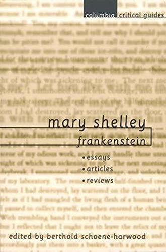 9780231121934: Mary Shelley: Frankenstein