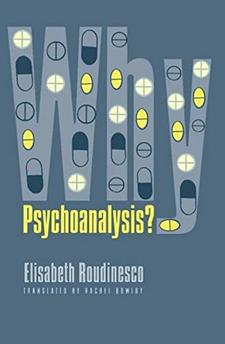 9780231122023: Why Psychoanalysis? (European Perspectives: A Series in Social Thought and Cultural Criticism)
