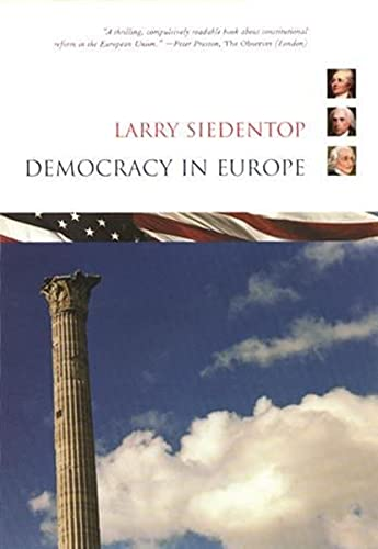 9780231123761: Democracy in Europe