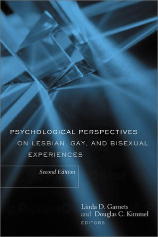 9780231124126: Psychological Perspectives on Lesbian, Gay, and Bisexual Experiences