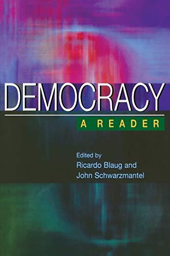 9780231124805: Democracy: A Reader