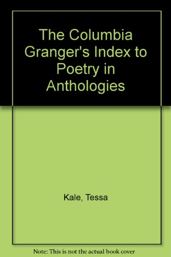 9780231126304: The Columbia Granger's Index to Poetry in Anthologies
