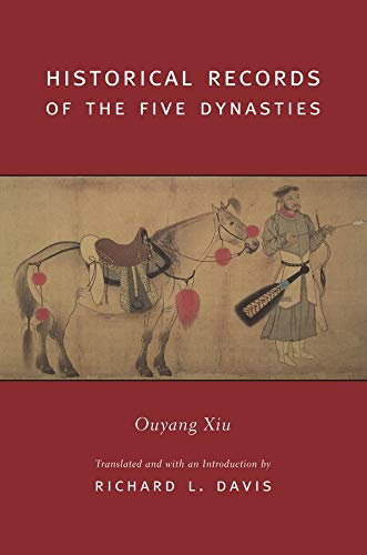 9780231128278: Historical Records of the Five Dynasties