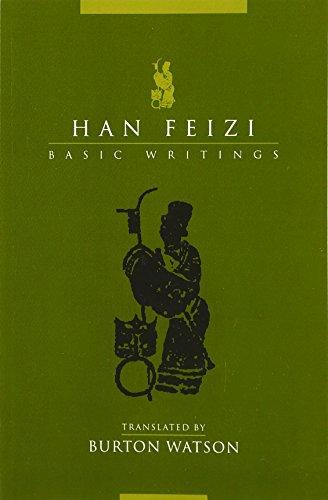 9780231129695: Han Feizi: Basic Writings (Translations from the Asian Classics)