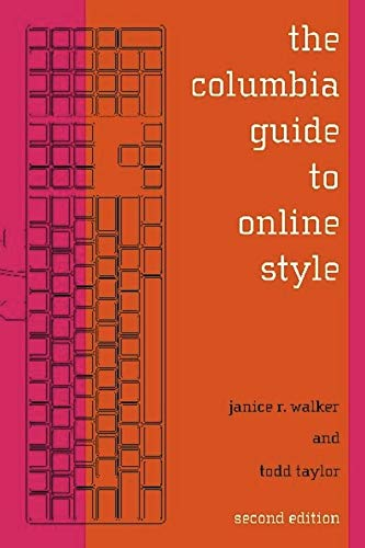 The Columbia Guide to Online Style ) 9780231132107 The Columbia Guide to Online Style is the standard resource for citing electronic and electronically accessed sources. It is also a critical style guide for creating documents electronically for submission for print or electronic publication. Updated and expanded, this guide now explains how to cite technologies such as Web logs and pod casts; provides more guidance on translating the elements of Columbia Online Style (COS) citations for use with existing print-based formats (such as MLA, APA, and Chicago); and features additional guidelines for producing online and print documents based on new standards of markup language and publication technologies. This edition also includes new bibliographic styles for humanities and scientific projects; examples of footnotes and endnotes for Chicago-style papers; greater detail regarding in-text and parenthetic reference and footnote styles; an added chapter on how to locate and evaluate sources for research in the electronic age; and new examples for citing full-text or full-image articles from online library databases, along with information on how to credit the source of graphics and multimedia files. Staying ahead of rapidly evolving technologies, The Columbia Guide to Online Style continues to be a vital tool for online researchers.
