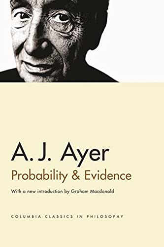 9780231132749: Probability and Evidence (Columbia Classics in Philosophy)