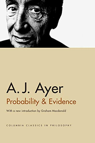 9780231132756: Probability & Evidence (Columbia Classics in Philosophy)