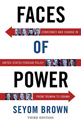 9780231133289: Faces of Power: Constancy and Change in United States Foreign Policy from Truman to Obama