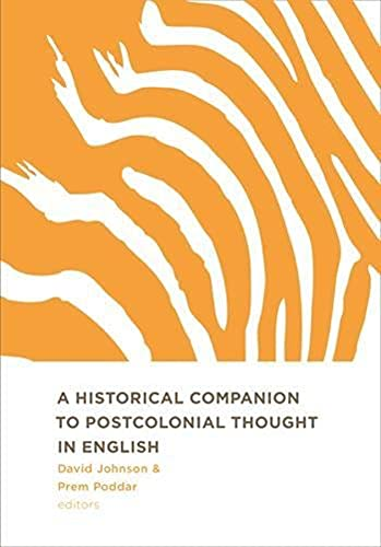 A Historical Companion to Postcolonial Thought in: Edinburgh University Press