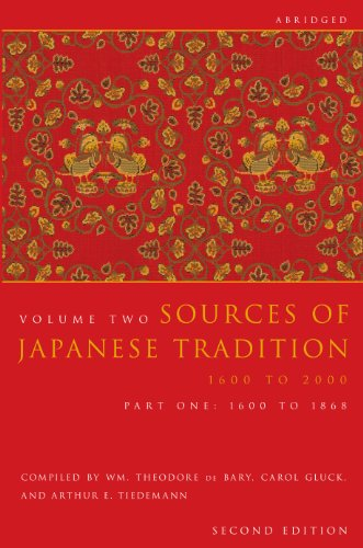9780231139168: Sources of Japanese Tradition, Abridged: 1600 to 2000; Part 2: 1868 to 2000 (Introduction to Asian Civilizations)