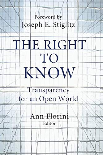 The Right to Know Transparency for an Open World