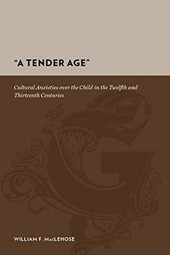 9780231142564: A Tender Age: Cultural Anxieties over the Child in the Twelfth and Thirteenth Centuries