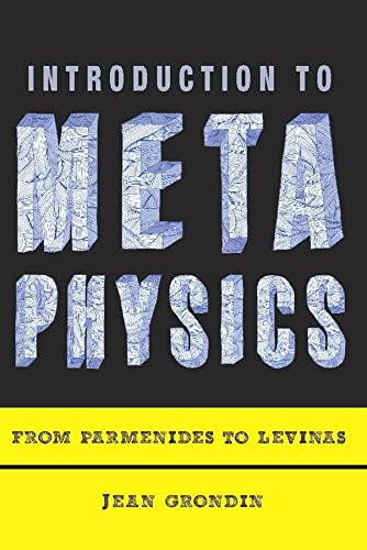 9780231148443: Introduction to Metaphysics: From Parmenides to Levinas