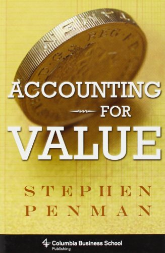 9780231151184: Accounting for Value (Columbia Business School Publishing)