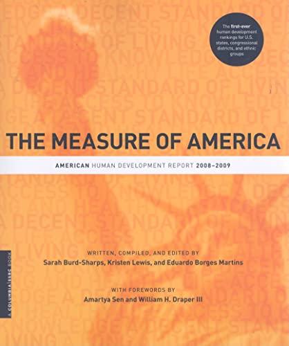 The Measure of America: American Human Development: Sarah Burd-Sharps, Kristen