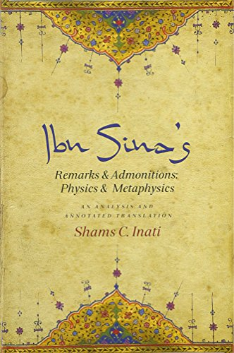9780231166164: Ibn Sina's Remarks and Admonitions: Physics and Metaphysics: An Analysis and Annotated Translation