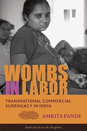 Wombs in Labor: Transnational Commercial Surrogacy in India (Hardback): Amrita Pande