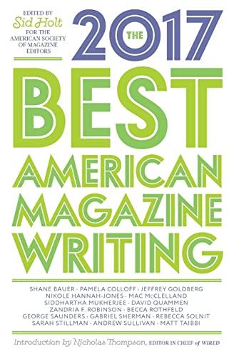 9780231181594: The Best American Magazine Writing 2017