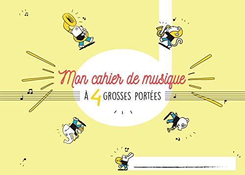 9780231303194: Cahier de musique Enfant 4 portées 32 pages