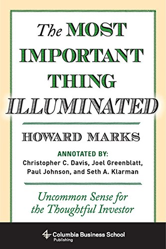 9780231530798: [ MOST IMPORTANT THING ILLUMINATED ] by Marks, Howard ( Author ) [ Dec- 01-2012 ] [ Hardback ]