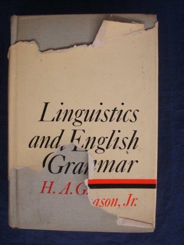 9780231600613: Linguistics And English Grammar