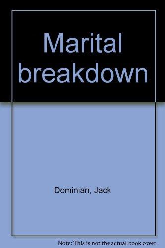 9780232509984: Marital Breakdown