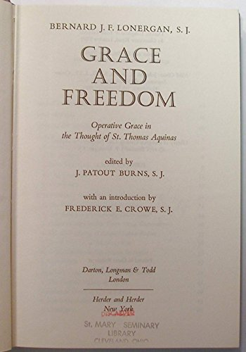 9780232511468: Grace and Freedom