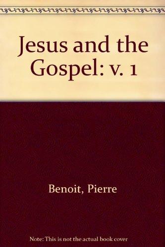 9780232511970: Jesus and the Gospel: v. 1