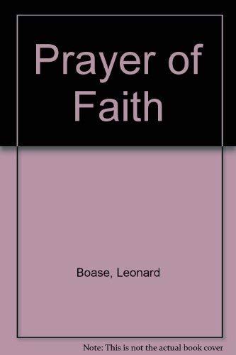 9780232513219: Prayer of Faith