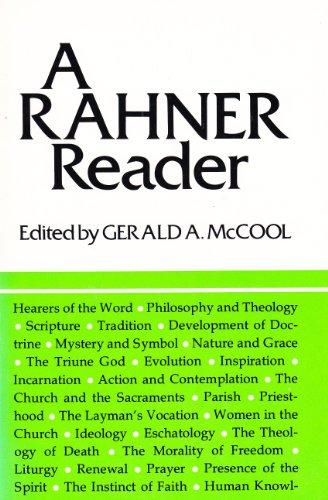 9780232513257: Rahner Reader: A Comprehensive Selection from Most of Karl Rahner's Published Works