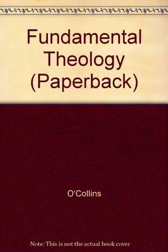 9780232515220: Fundamental Theology