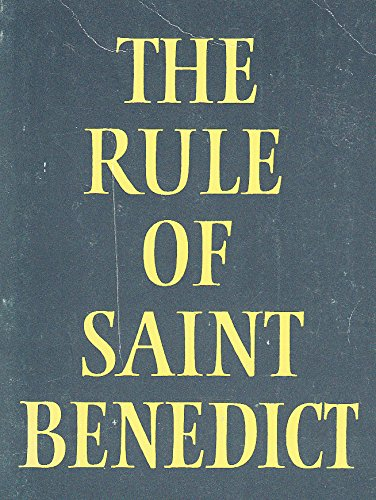 9780232515848: The Rule of Saint Benedict