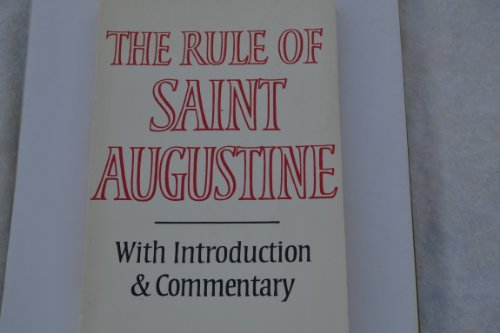 9780232515923: The Rule of Saint Augustine: Masculine and feminine versions