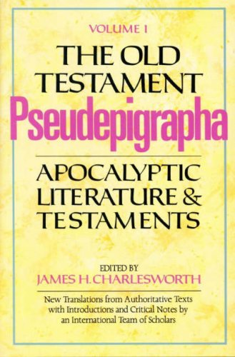 9780232516036: The Old Testament Pseudepigrapha Vol. 1