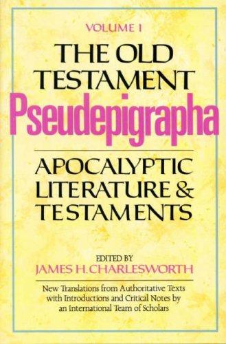 9780232516036: The Old Testament Pseudepigrapha Vol. 1