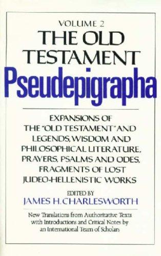 9780232516272: The Old Testament Pseudepigrapha: v. 2