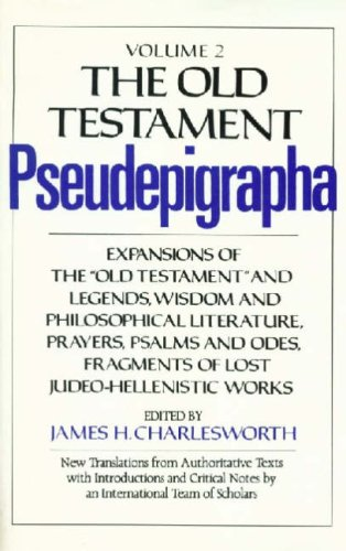 9780232516272: The Old Testament Pseudepigrapha: v. 2