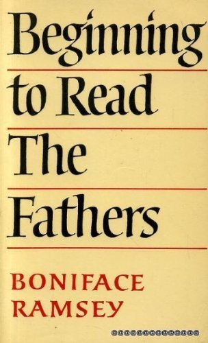 9780232516890: Beginning to Read the Fathers
