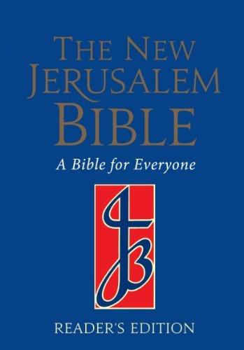 9780232519303: New Jerusalem Bible: Reader's Edition