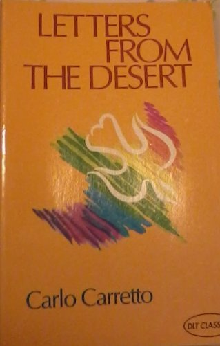 9780232519518: Letters from the Desert