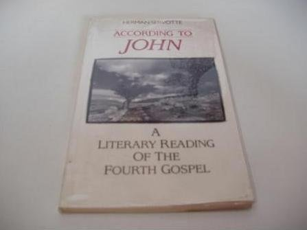 9780232520699: According to John: A Literary Reading of the Fourth Gospel